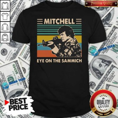 Mitchell Eye On The Sammich Vintage Shirt- Design by Waretees.com