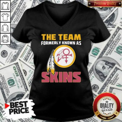 The Team Formerly Known As Skin V-neck - Design By Waretees.com