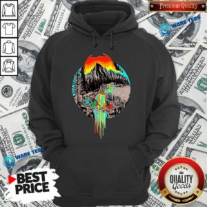 Premium Volcanoes Overflowing Dancing Bear Grateful Dead Hoodie - Design by Waretees.com