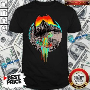 Premium Volcanoes Overflowing Dancing Bear Grateful Dead Shirt - Design by Waretees.com