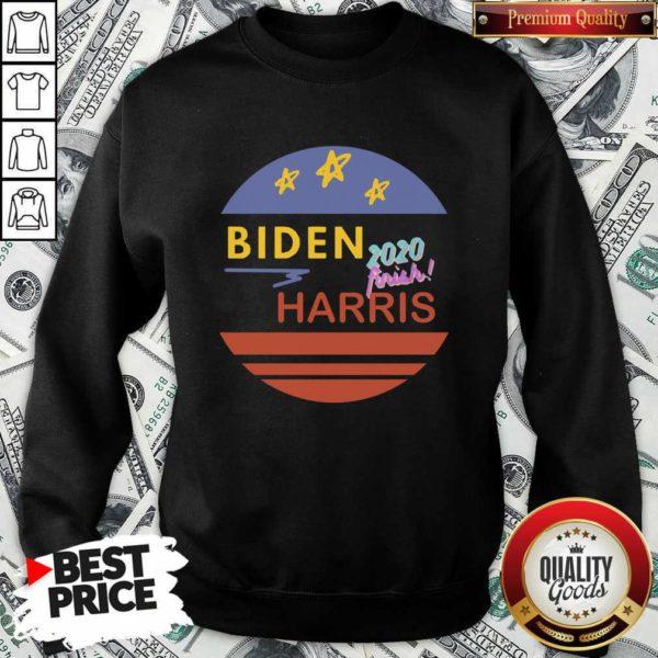 Pretty Biden 2020 Frink Harris Vintage Sweatshirt - Design by Waretees.com