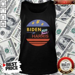 Pretty Biden 2020 Frink Harris Vintage Tank top - Design by Waretees.com