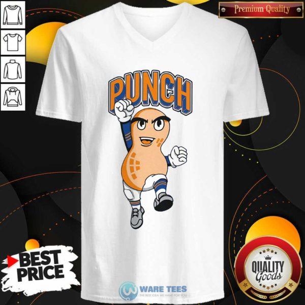 Chicago Peanut Punch V-neck- Design by Waretees.com