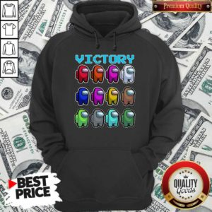 Imposter Among Us Victory Hoodie - Design By Waretees.com