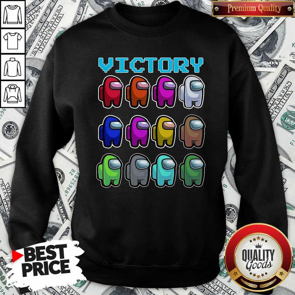 Imposter Among Us Victory Sweatshirt - Design By Waretees.com