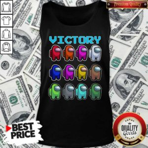 Imposter Among Us Victory Tank Top - Design By Waretees.com