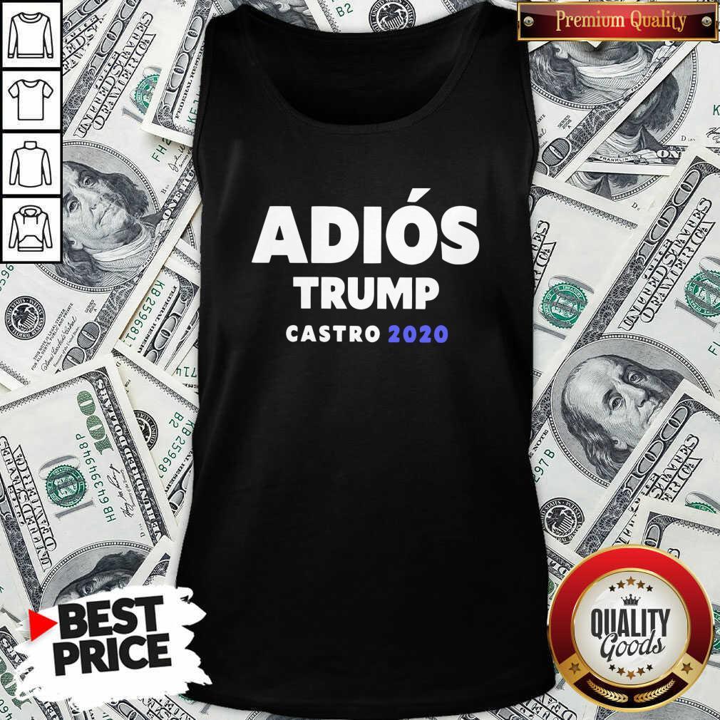Top Adios Trump Castro 2020 Tank Top - Design by Waretees.com