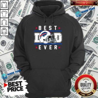 Buffalo Bills Best Dad Ever Father's Day Hoodie- Design by Waretees.com