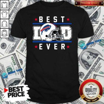 Buffalo Bills Best Dad Ever Father's Day Shirt- Design by Waretees.com
