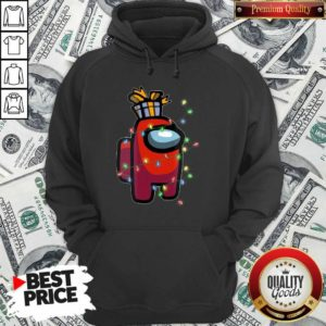 Christmas Santa Among Us Character Coffee Hoodie - Design by Waretee.com
