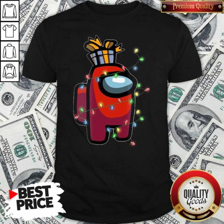 Christmas Santa Among Us Character Coffee Shirt - Design by Waretee.com