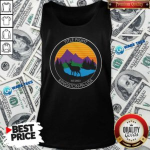 Cold Cuts Merch Title Fight Deer Tank-Top- Design by Waretees.com