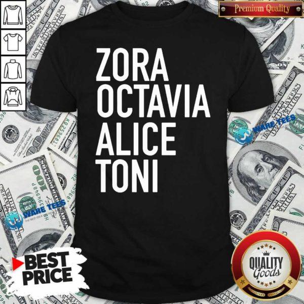 Harrietts Bookshop Zora Octavia Alice Toni Shirt- Design By Waretees.com