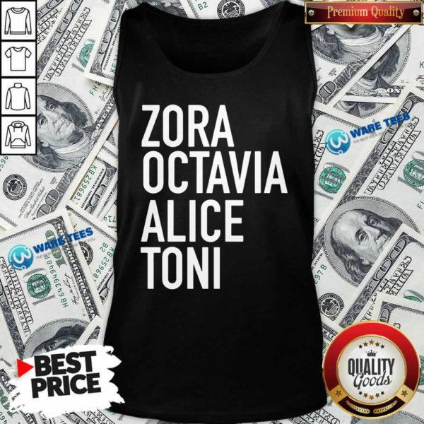 Harrietts Bookshop Zora Octavia Alice Toni Tank-Top- Design By Waretees.com