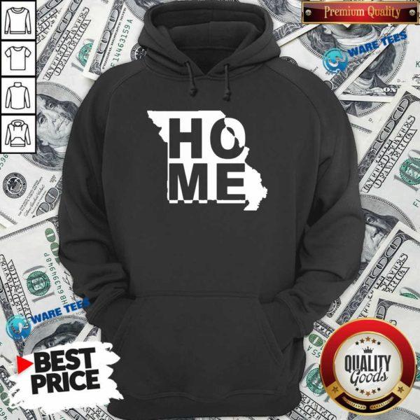 Home State Missouri Hoodie- Design by Waretees.com