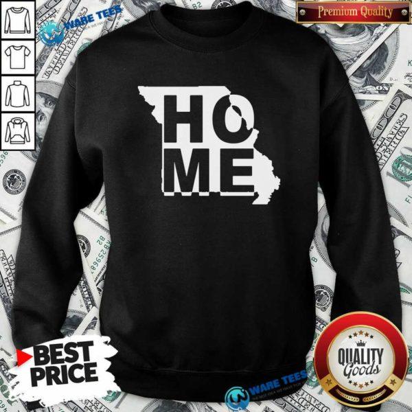 Home State Missouri Sweatshirt- Design by Waretees.com