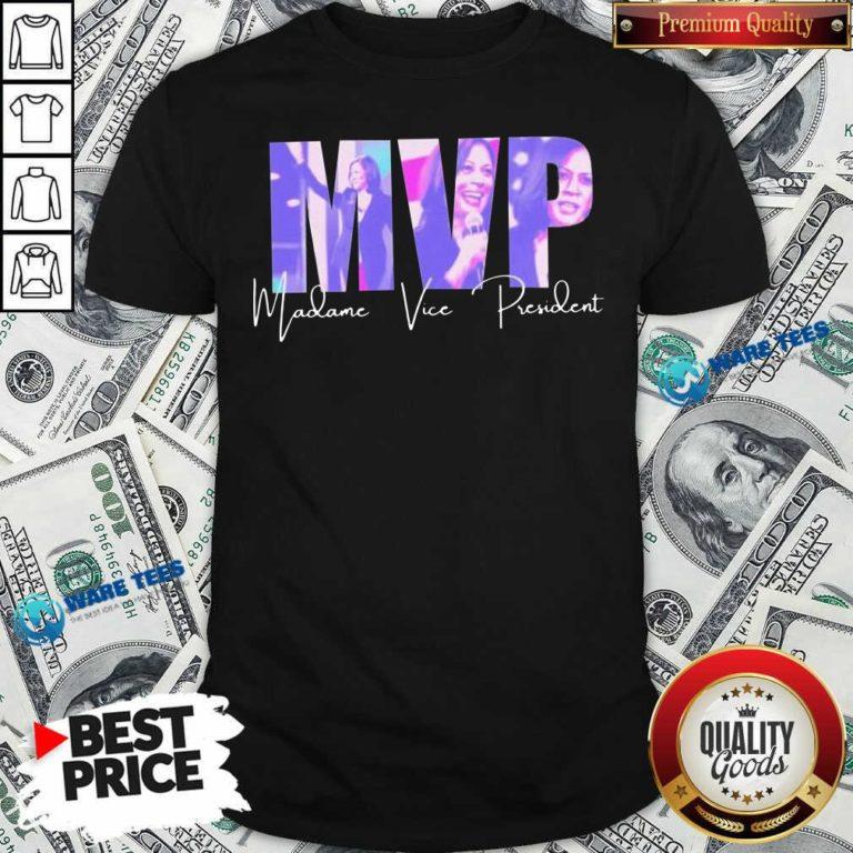 Kalama MVP Madane Vice President Shirt- Design by Waretees.com