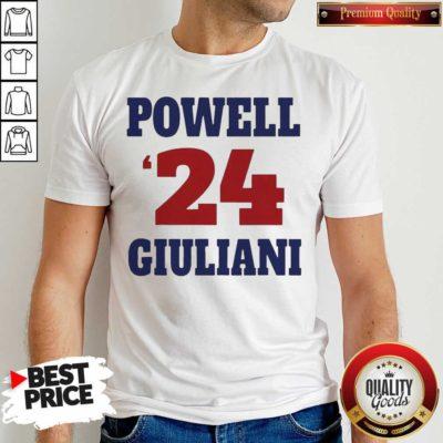 Top Powell 24 Giuliani Shirt - Design by Waretees.com