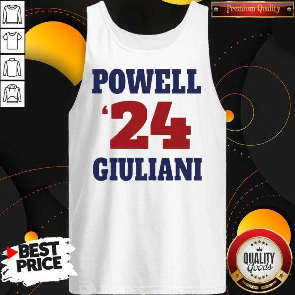 Top Powell 24 Giuliani Tank Top - Design by Waretees.com