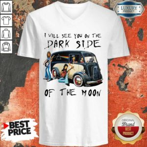 Anxious The Dark Side Of The Moon 1 V-neck