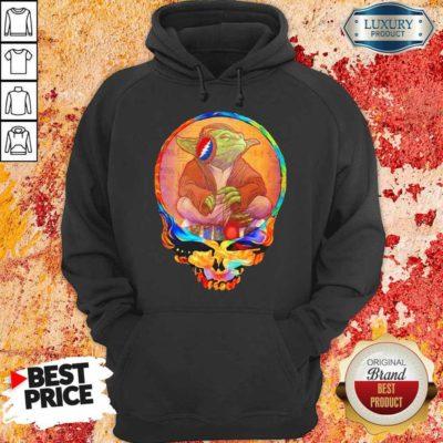 Arrogant Yoda 1 Music Grateful Skull Hoodie