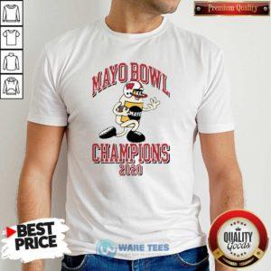 Mayo Bowl Champions 2021 Shirt- Design by Waretees.com