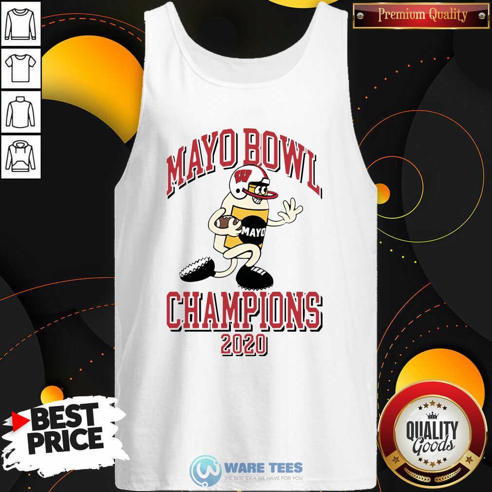 Mayo Bowl Champions 2021 Tank-Top- Design by Waretees.com