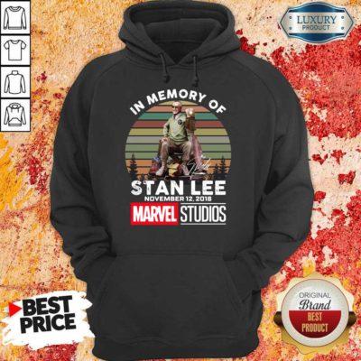 Tense Memory Stan Lee November 12 2018 Marvel Hoodie