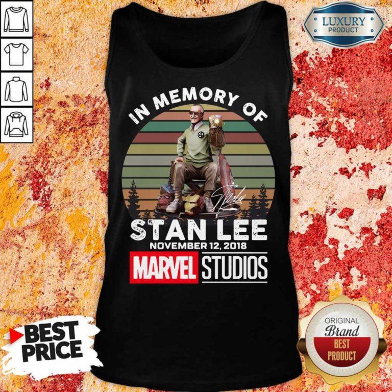 Tense Memory Stan Lee November 12 2018 Marvel Tank Top