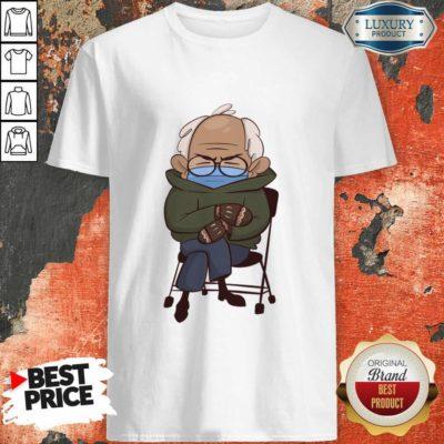 Envious Cozy Bernie Sanders 9 Inauguration Mittens Shirt - Design by Waretees.com