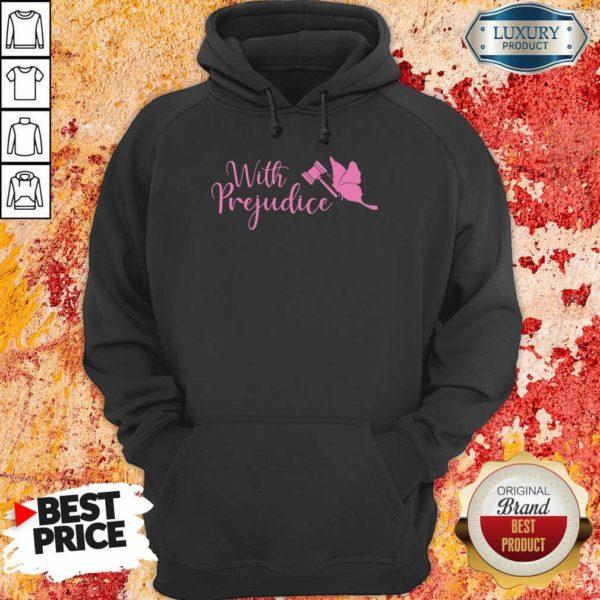 Frightened Lindsay Ellis Merch With 5 Prejudice Hoodie - Design by Waretees.com
