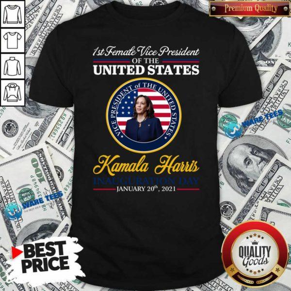 United States President Joe Biden 2021 And VP Harris Inauguration Day Shirt- Design by Waretees.com