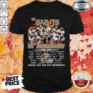 Keen The New Orland Saints 55th Anniversary 1966 2021 Shirt
