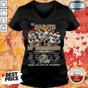 Keen The New Orland Saints 55th Anniversary 1966 2021 V-neck