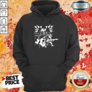 Malicious The 4 Cat Band Singing Hoodie - Design by Waretees.com