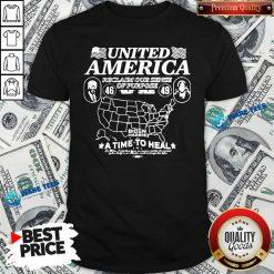 Original Biden Harris United America Reclaim Time To Heal Shirt