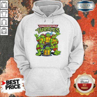 Overjoyed Teenage Mutant 11 Ninja Turtles Hoodie - Design by Waretees.com