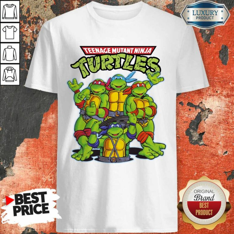 Overjoyed Teenage Mutant 11 Ninja Turtles Shirt - Design by Waretees.com