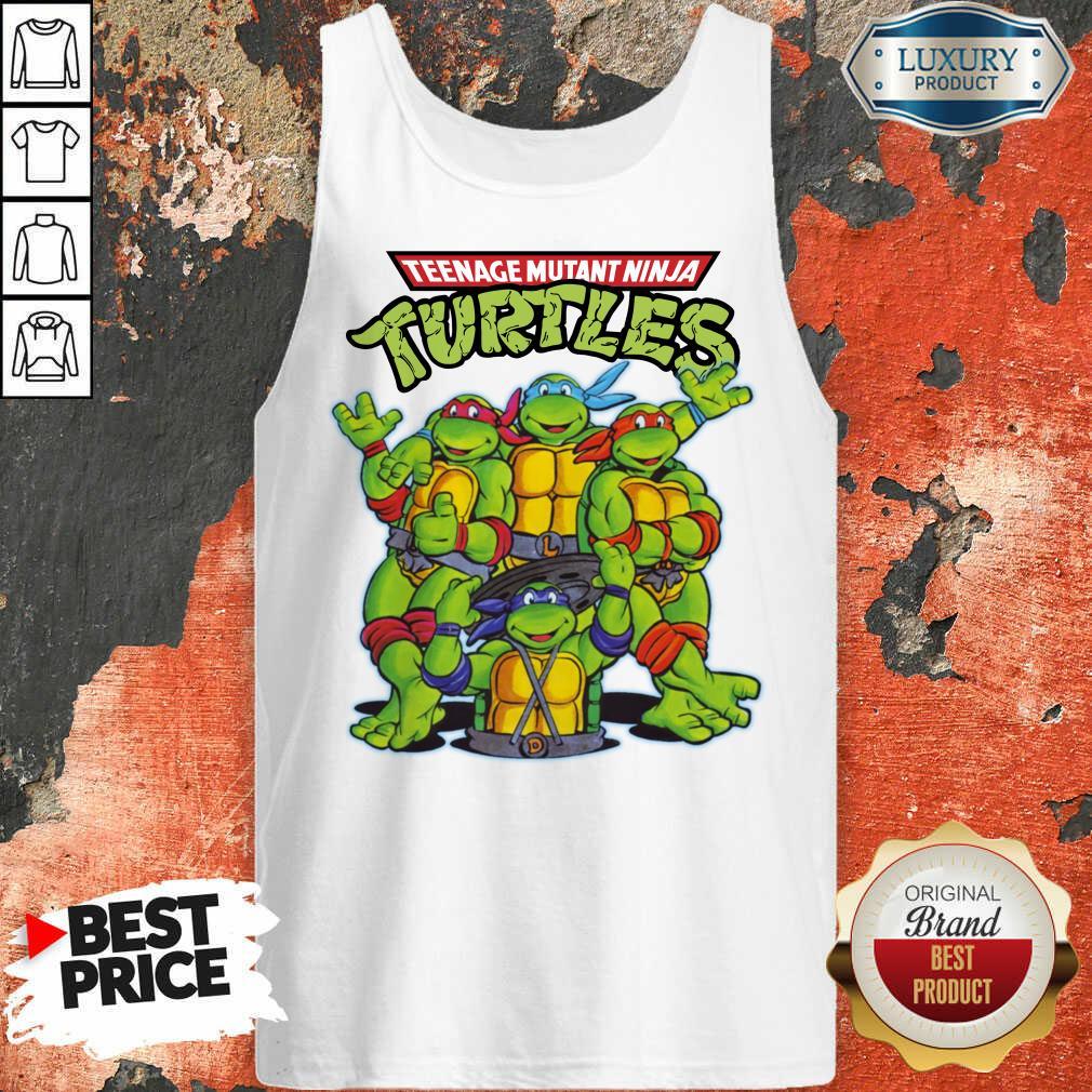 Overjoyed Teenage Mutant 11 Ninja Turtles Tank Top - Design by Waretees.com