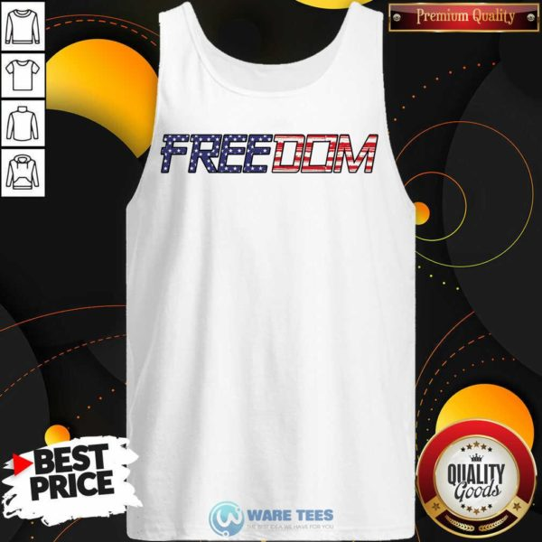 American Flag Patriotic Freedom Tank-Top-Design By Waretees.com
