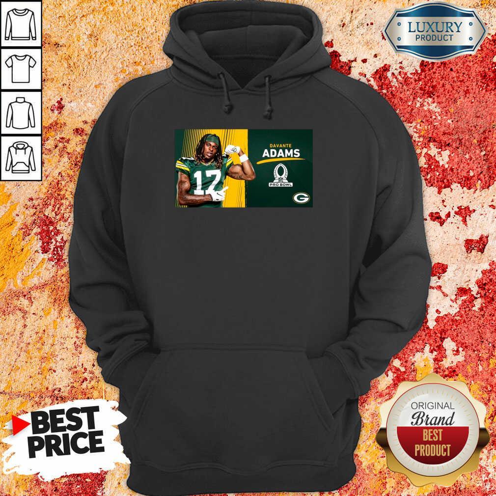 Sad Green Bay Packers Davante Adams Is Pro Bowl 2021 Hoodie - Design by Waretees.com