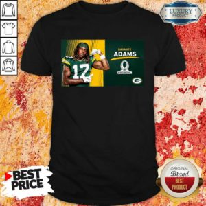 Sad Green Bay Packers Davante Adams Is Pro Bowl 2021 Shirt - Design by Waretees.com
