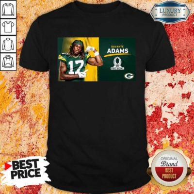 Sad Green Bay Packers Davante Adams Is Pro Bowl 2021 Shirt - Design by Waretees.com