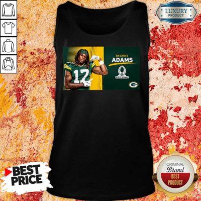Sad Green Bay Packers Davante Adams Is Pro Bowl 2021 Tank Top - Design by Waretees.com