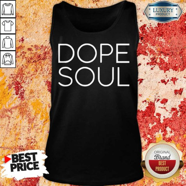 Surprised Mad Hustle Dope Soul 12 Black Tank Top - Design by Waretees.com