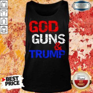 Tense God Guns and Trump 7 Tank Top