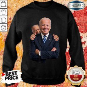 Worried Joe Biden Sniff Joe Biden 6 Sweatshirt
