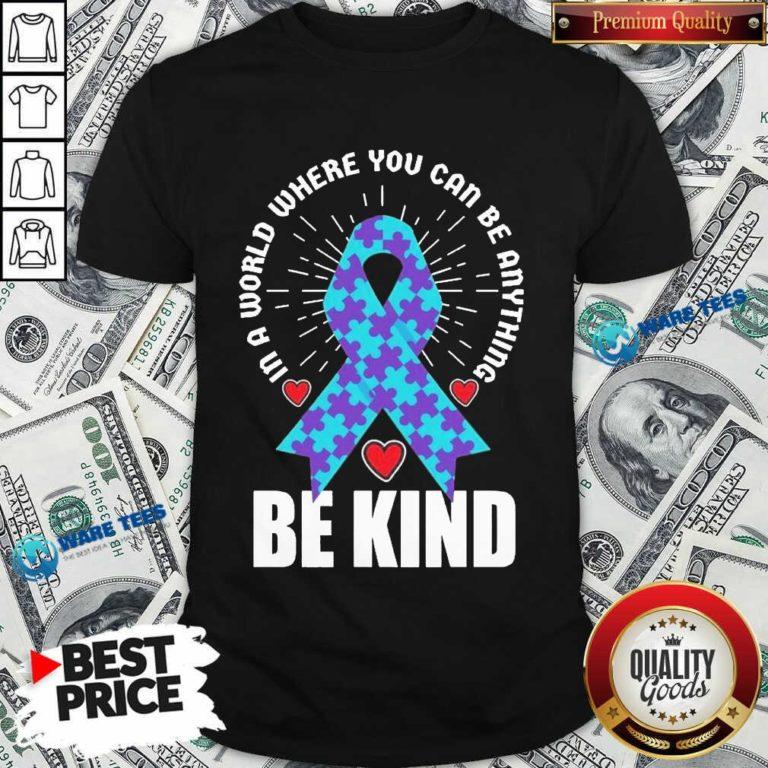 Be Kind Suicide 4 Awareness Shirt - Design by Waretees.com