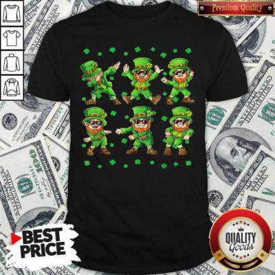 Dancing Leprechauns 4 St Patricks Day Shirt - Design by Waretees.com