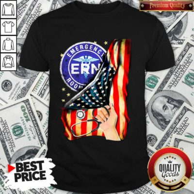 Funny Emergency Room And American Flag Shirt
